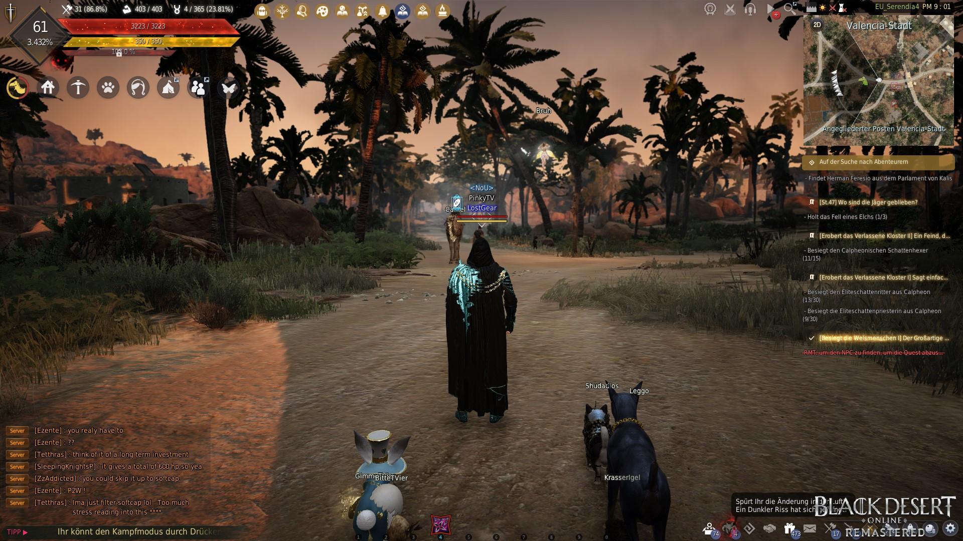 Black Desert Online standard UI